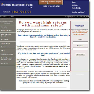 trust deed program site